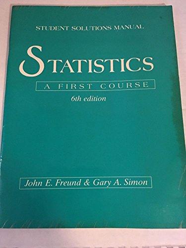 9780131499805: Statistics Ssm