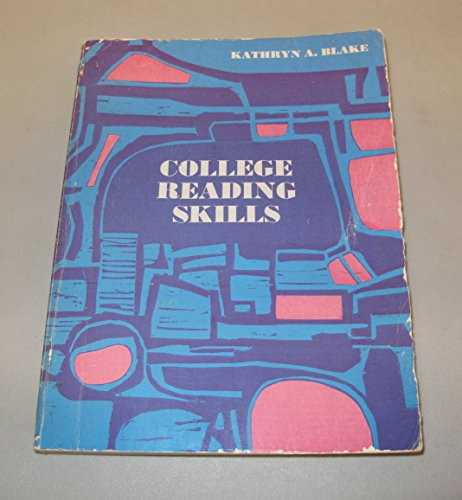 9780131500037: College Reading Skills