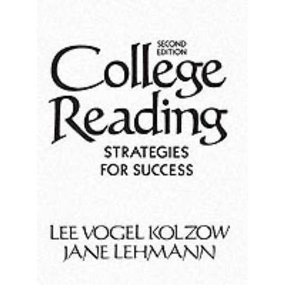 9780131500525: College Reading: Strategies for Success