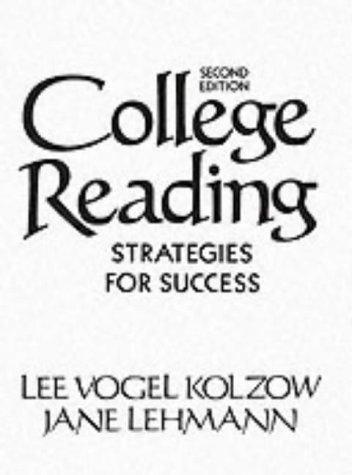 9780131500792: College Reading: Strategies for Success (2nd Edition)