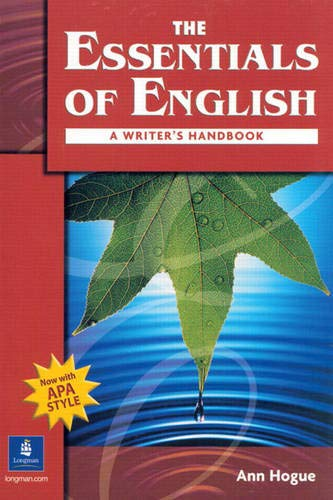 9780131500907: The Essentials of English: A Writer's Handbook With Apa Style