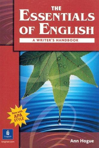 9780131500907: The Essentials of English: A Writer's Handbook (with APA Style)