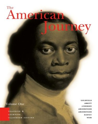 Stock image for American Journey: A History Of The United States for sale by OwlsBooks