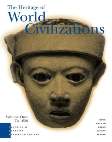 9780131500990: Heritage of World Civilizations: Teaching and Learning Classroom Edition Volume 1