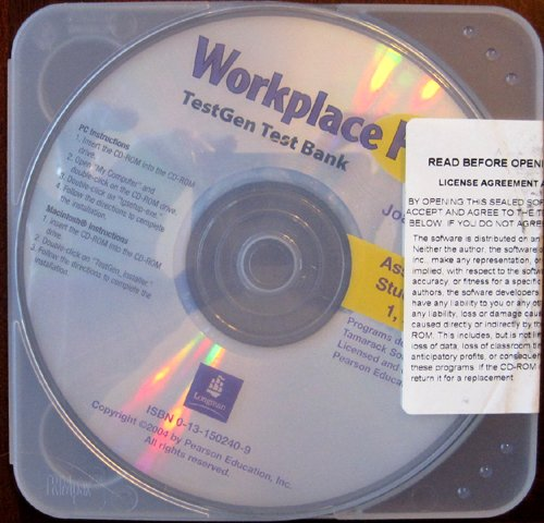 9780131502406: Workplace Plus TestGen Test Bank: Assessment for Student Books 1, 2, 3, & 4