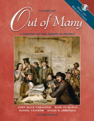 9780131502574: Out of Many: A History of the American People, Volume 1, Media and Research Update (4th Edition)