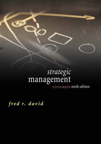 9780131503465: Strategic Management: Concepts (10th Edition)