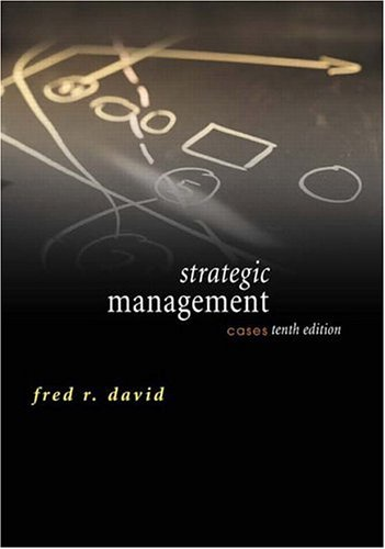 9780131503472: Strategic Management: Cases (10th Edition)