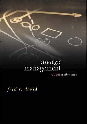 9780131503472: Strategic Management: Cases (10th Edition)