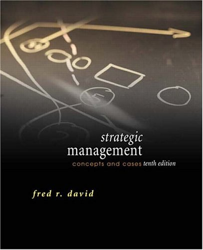 9780131503496: Strategic Management: Concepts and Cases (10th Edition)