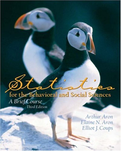 9780131505087: Statistics for the Behavioral and Social Sciences: A Brief course (3rd Edition)