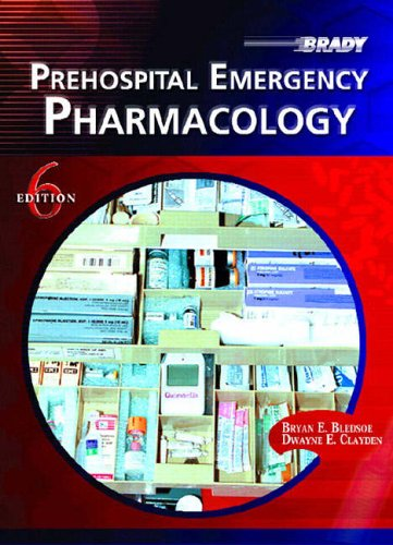 9780131507111: Prehospital Emergency Pharmacology