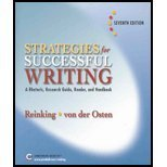 Strats Succssfl Writg & Naw Dictionary Pkg (0131509284) by James A. Reinking