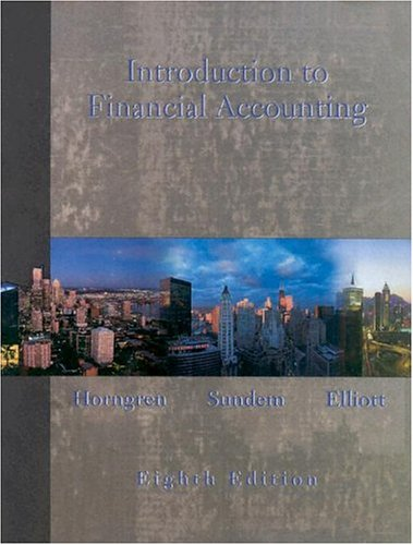 9780131509870: Introduction to Financial Accounting