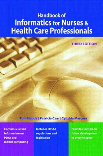 9780131512627: Handbook of Informatics for Nurses and Health Care Professionals