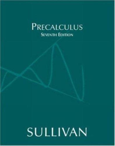 9780131517448: Precalculus, 7th Edition