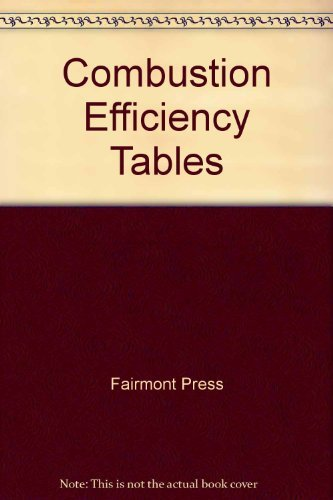 9780131518209: Combustion Efficiency Tables