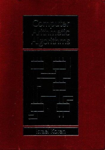 9780131519527: Computer Arithmetic Algorithms