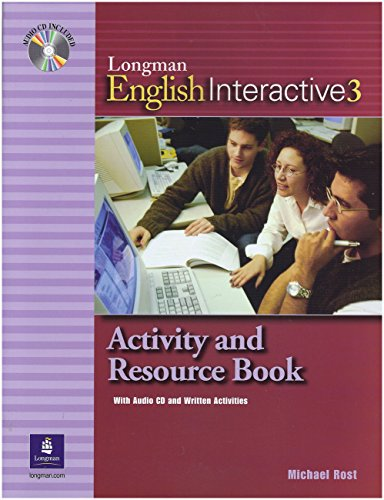 9780131520868: Longman English Interactive 3, Activity and Resource Book with Audio CD