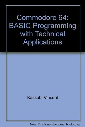 9780131521667: Commodore 64 Basic Programming With Technical Applications