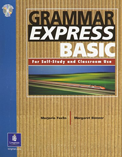 9780131523555: Grammar Express Basic, with Answer Key Book w/ CD-ROM w/o Answer Key