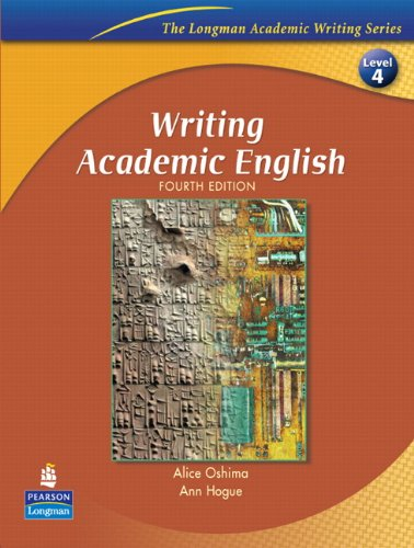 9780131523593: Writing Academic English, Fourth Edition (The Longman Academic Writing Series, Level 4)