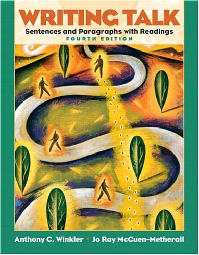 9780131523616: Writing Talk: Sentences & Paragraphs with Readings (4th Edition)
