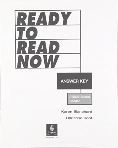 9780131523845: Ready to Read Now Answer Key