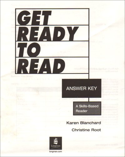 9780131523852: Get Ready to Read Answer Key