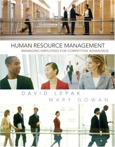 9780131525320: Human Resource Management: United States Edition: Managing Employees for Competitive Advantage (Pearson Custom Business Resources)