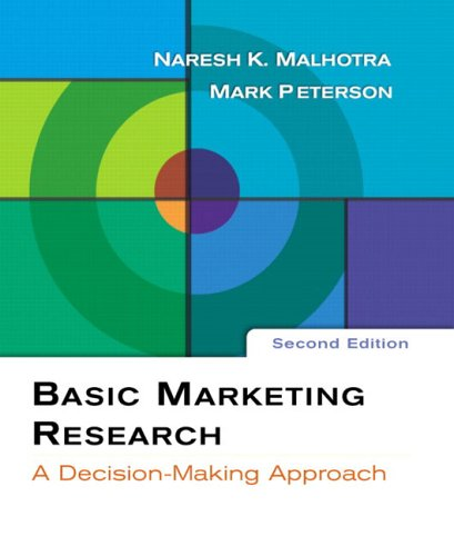 9780131525429: Basic Marketing Research (2nd Edition)
