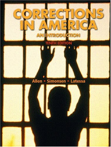 9780131525603: Corrections in America (10th Edition)