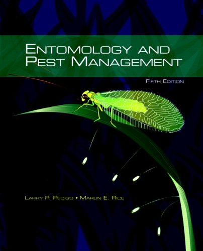 9780131525634: Entomology and Pest Management (5th Edition)