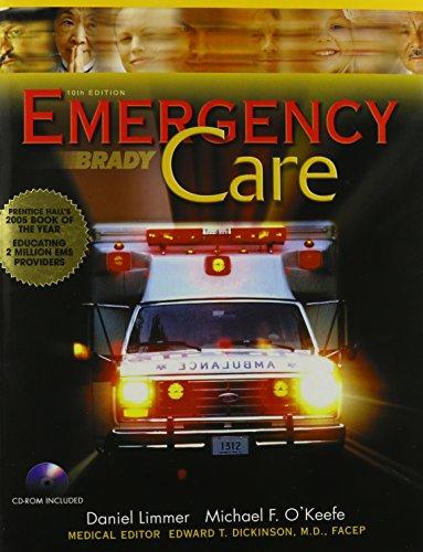 9780131526570: Emergency Care Textbk w/ Workbook & EMT-Basic Self Assessment Exam Prep