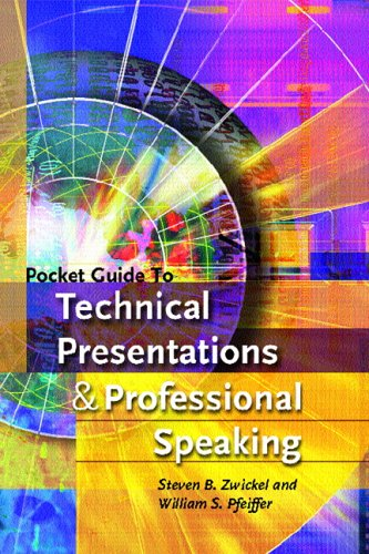 9780131529625: Pocket Guide to Technical Presentations and Professional Speaking