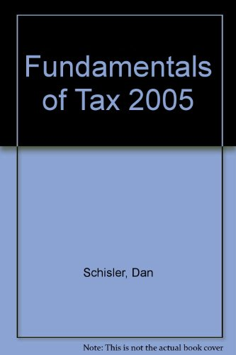 9780131530867: Fundamentals of Tax 2005