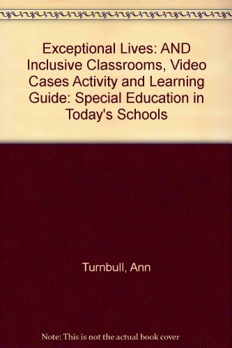 9780131533998: Exceptional Lives: Special Education In Today's Schools - Fourth Edition
