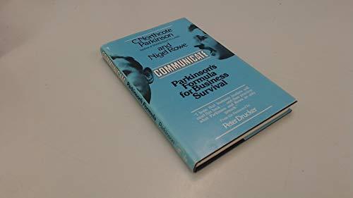 9780131534605: Communicate: Parkinson's Formula for Business Survival