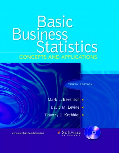 9780131536869: Basic Business Statistics: Concepts and Applications (10th Edition)