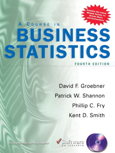 9780131536876: A Course In Business Statistics: Business Statistics