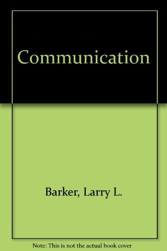 Communication: Larry L. Barker