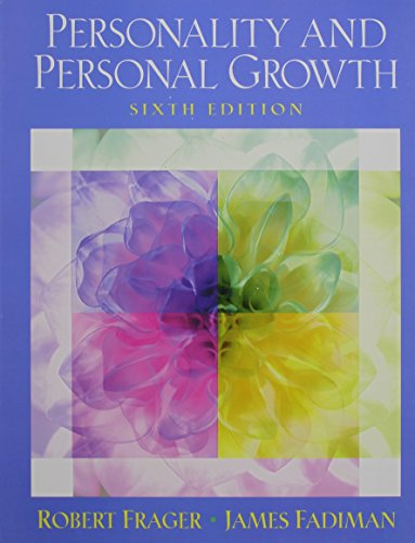 9780131538276: Current Directions in Personality Psychology with Personality and Personal Growth (6th Edition)