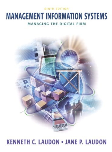 9780131538412: Management Information Systems: Managing the Digital Firm (9th Edition)