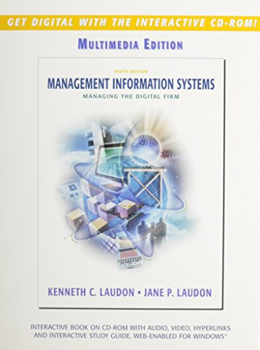 9780131538443: Management Information Systems: CD-ROM