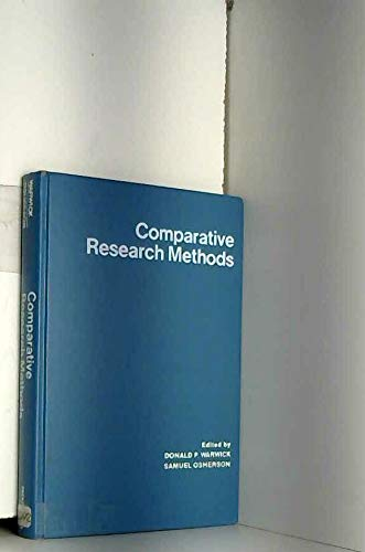 9780131539402: Comparative Research Methods (General sociology series)