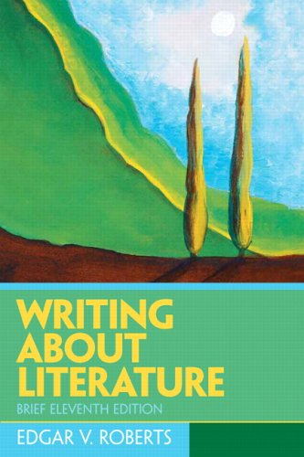 9780131540569: Writing About Literature: Brief