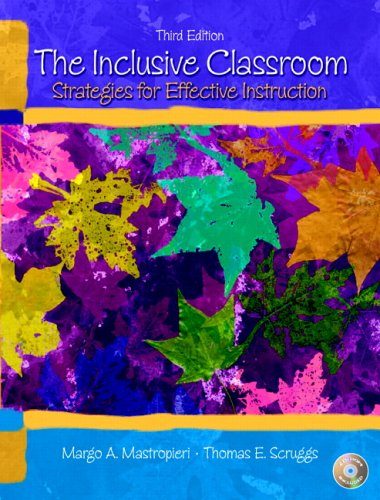 9780131540682: The Inclusive Classroom: Strategies for Effective Instruction