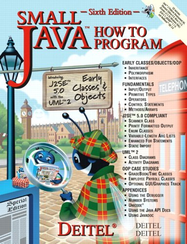 9780131541573: Small Java How to Program and CD Version One Package (6th Edition) (How to Program Series)