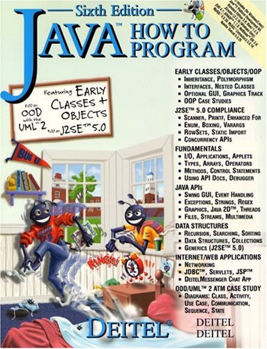 9780131541597: Java How to Program and CD Version One (6th Edition)