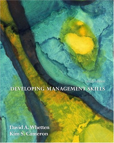 9780131542402: Developing Management Skills (6th Edition)